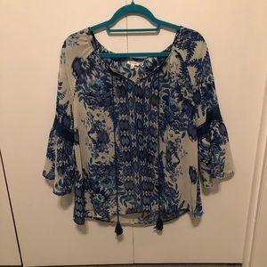 En Creme Tops - En creme blouse